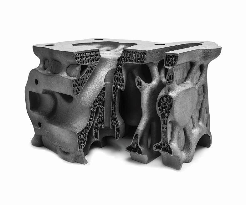 SLM Solutions cylinder head