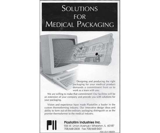 plastofilm medical thermoforming