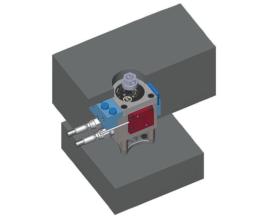 valve pin position adjustment
