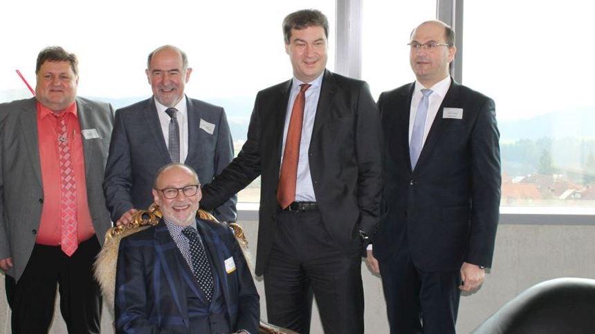 Dr. Markus Söder, Bavarian State Minister for Finance, Regional Development and Home Affairs