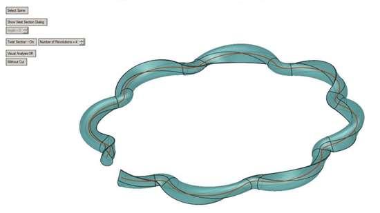 conformal water lines