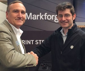 Jamie Hanson, Methods 3D, and Greg Mark, Markforged
