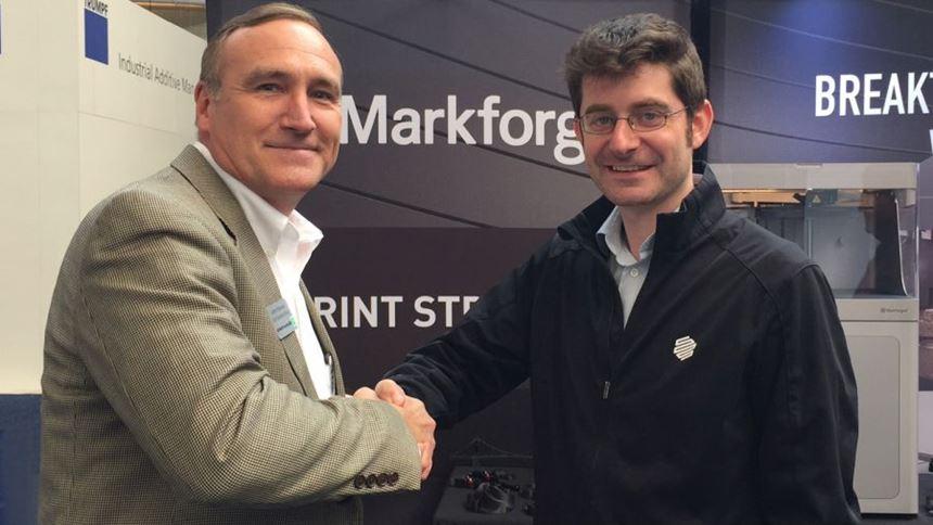Jamie Hanson, Methods 3D, and Greg Mark, Markforged