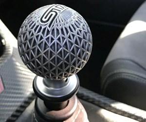 3D-printed shift knob