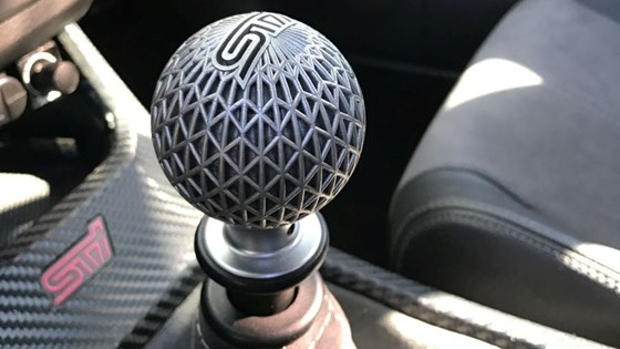 3D-printed shift knob