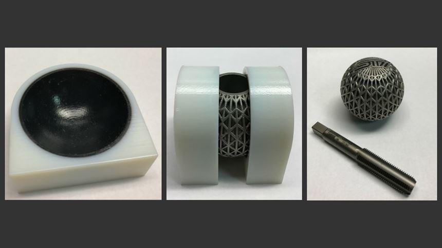 3D-printed shift knob and fixtures