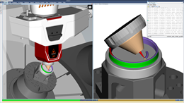 A screenshot of the additive module from CGTech's Vericut simulation software.