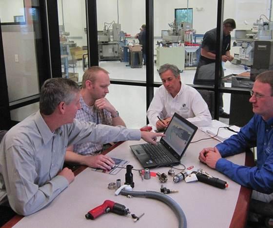 meeting discussing DFM
