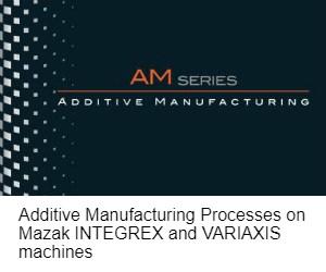 Mazak AM Series Hybrid Additive machines brochure