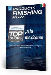 Agosto Products Finishing México número de revista