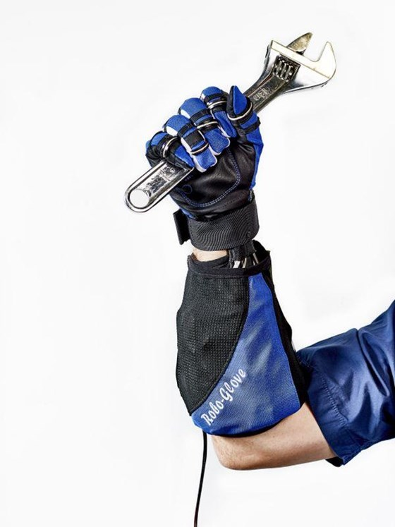 The glove is a force multiplier that can help relieve fatigue during repetitive operations.