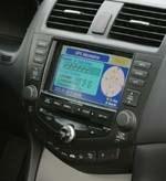 2003 Accord sedan nav system dashboard