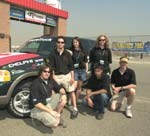 University of Alberta team at California Speedway