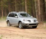 The small sport ute from Mitsubishi, the Outlander