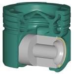 Federal-Mogul's Monosteel piston