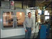 Accu-Mold's new high-speed milling machine