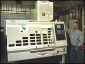 Accu-Mold's new 32,000-rpm, high-speed, hard milling machine