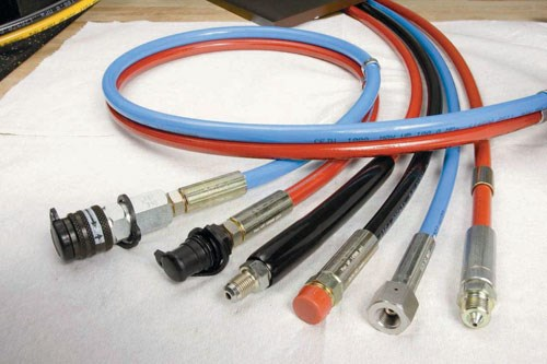 Quick-connect couplings hoses