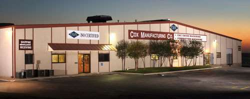 Cox Manufacturing facility