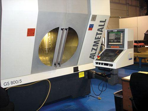 Alzmetall milling machine