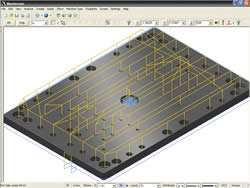 Mold plate
