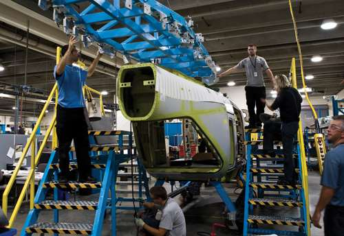 Modular Composites A Perfect Fit In New Medevac Helicopter Compositesworld