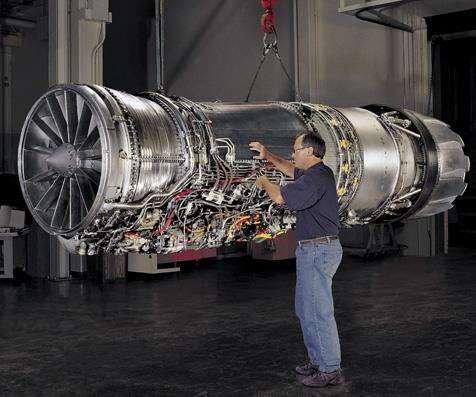 F110 jet engine