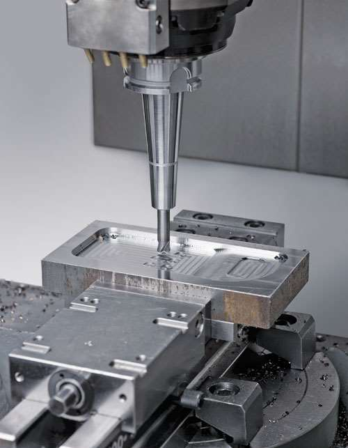 High-feed mold and die