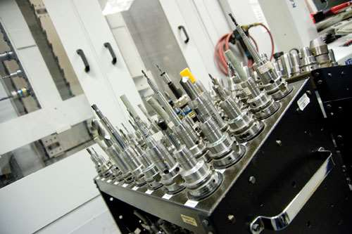 hydraulic toolholders