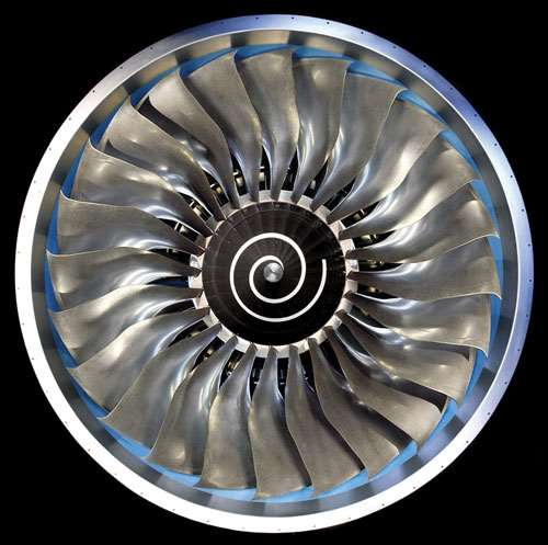 Fan rotor from Trent 900