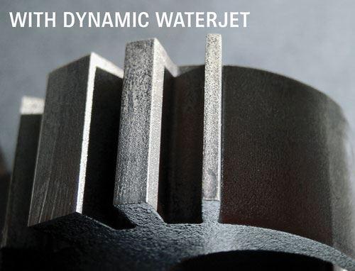 Waterjet Taper Control