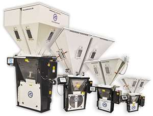 Guardian Series 2 gravimetric batch blenders from Process Control Corp.