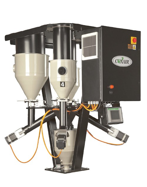 Conair TrueWeigh continuous gravimetric blender for extrusion