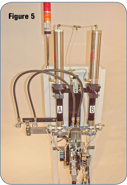 Micro-meter LSR meter-mix system