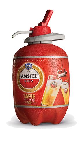 Heineken Amstel PET beer keg
