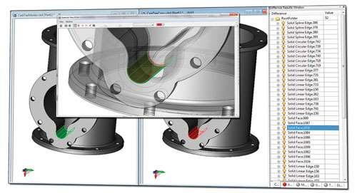 CAD examine window
