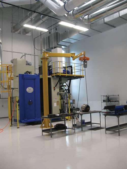 Metal Improvement Company equipment
