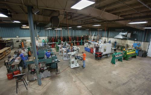 CNC lathe and machining center
