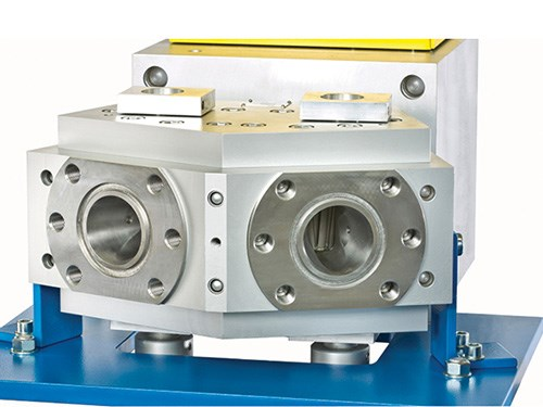 Extrusion melt pump from Maag