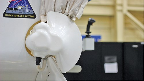 3D printed part from Stratasys material for NASA Mars Rover