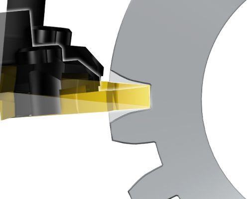 machining of root and protuberance