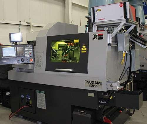Tsugami swiss laser