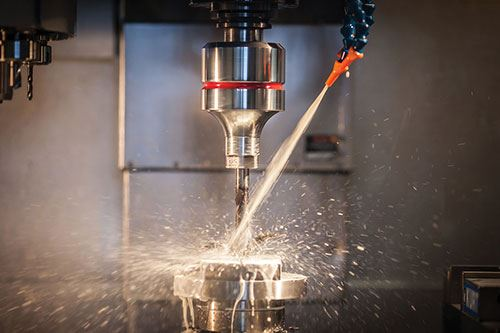 ultrasonic vibration added to a standard machining center and cutting tool