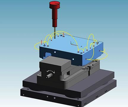 five axis drilling