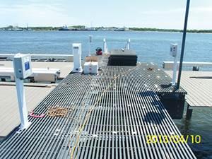 Composites upgrade marine infrastructure