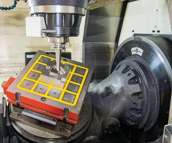 rotary on machine bed