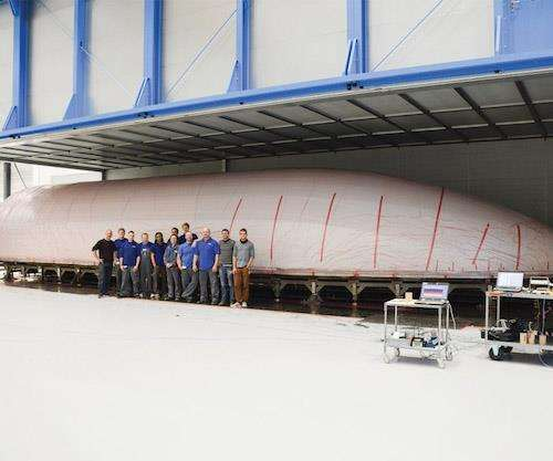 carbon fiber composite payload fairing