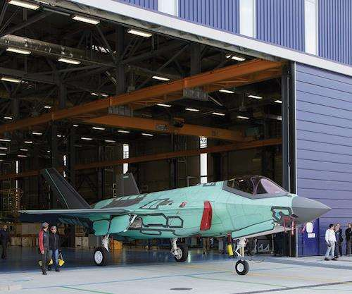 Italian F-35A Lightning II fighter