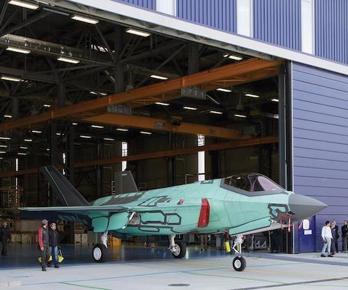 Italian F-35A Lightning II fighter