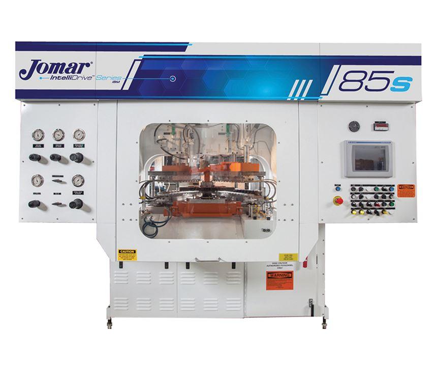 Jomar IntelliDrive servo hydraulic machine